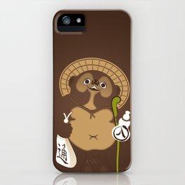 Japan Serie 5 - TANUKI iPhone Case