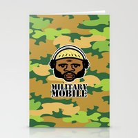 military Stationery Cards featuring Military Mobile by DUBLIC