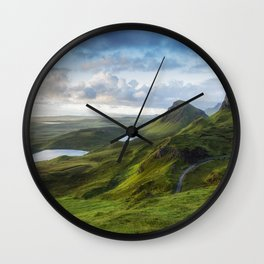 Up in the Clouds V Wall Clock