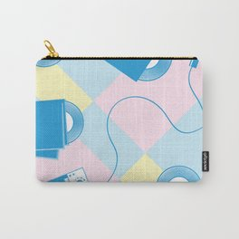 Pattern of retro templates for karaoke, disco, party,  singing Carry-All Pouch