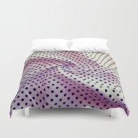 fabric Duvet Covers featuring Vintage fabric by Rafael&Arty