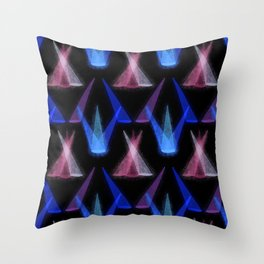 Spotlights Throw Pillow