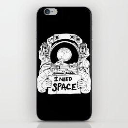 Major Spaceman iPhone Skin