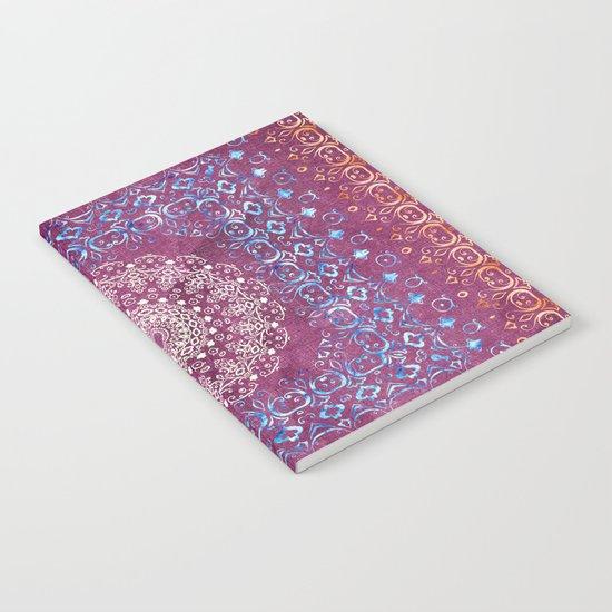 Old Bookshop Magic Mandala Notebook