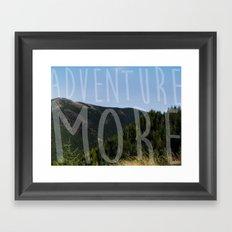 Adventure More Framed Art Print