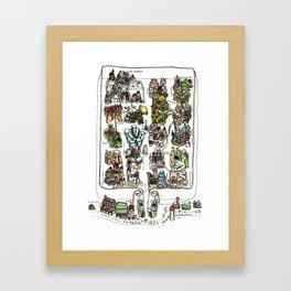 The Lost City of Forgotten Gods Framed Art Print