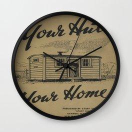 Vintage poster - New Zealand Railways Wall Clock