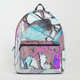 Abstract Flower No 1 Backpack
