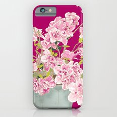 Heavenly Blossom on Pink Slim Case iPhone 6s