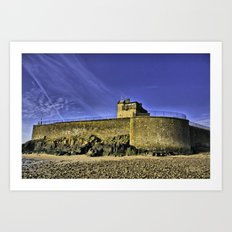 Broughty Castle, Tayside Art Print