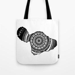 The Island of Maui [Tribal Illustration] Tote Bag