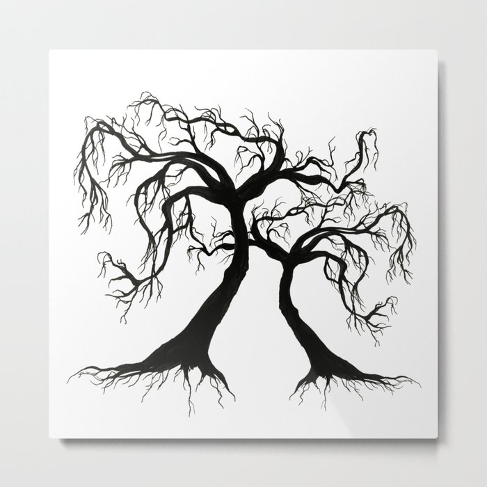 Twisted Trees  Metal Print