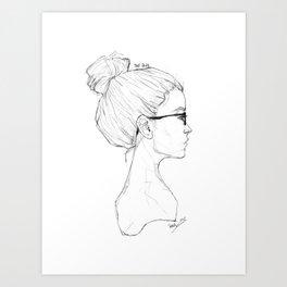 The Bun 2 Art Print