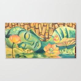 Calm Within the Chaos Canvas Print
