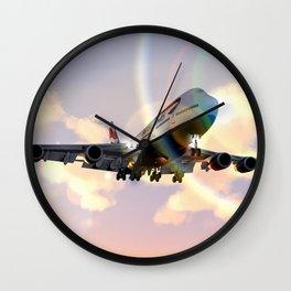 Boeing 747-400 Wall Clock