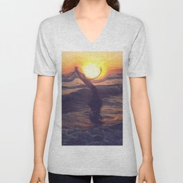One With You Unisex V-Neck