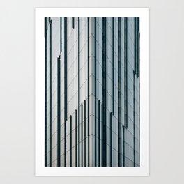 Surface Tension: Glasgow City Centre Art Print