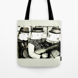 Three Musicians Tote Bag
