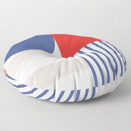 Modern Patriotism  Floor Pillow