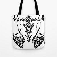 libra Tote Bags featuring Libra by Mario Sayavedra
