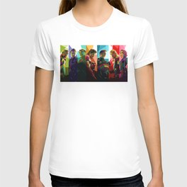 WPAP Avenger - Iron Man, Cap America, Thor, Black Widow, Hulk, Nick, Clint T-shirt