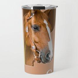 Paard - dierenalfabet Travel Mug