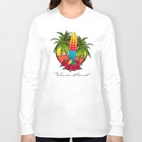 venice Long Sleeve T-shirts featuring venice beach by mark ashkenazi