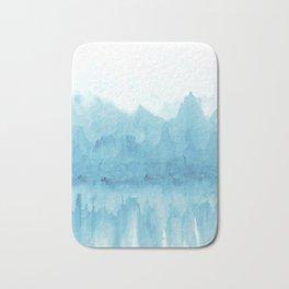 Ice Mountains Bath Mat