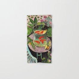 Henri Matisse Goldfish 1911, Goldfishes Artwork, Men, Women, Youth Hand & Bath Towel