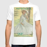 1957 Spring/Summer Catalog Cover Mens Fitted Tee White MEDIUM