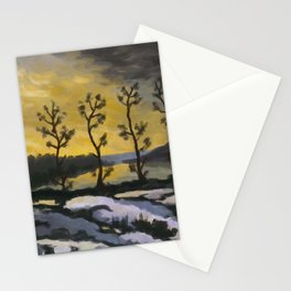 Forever lonely trees (The Danish Girl interpretation) Stationery Cards