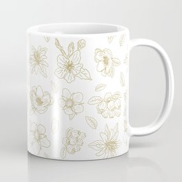 Golden fruit flowers Coffee Mug