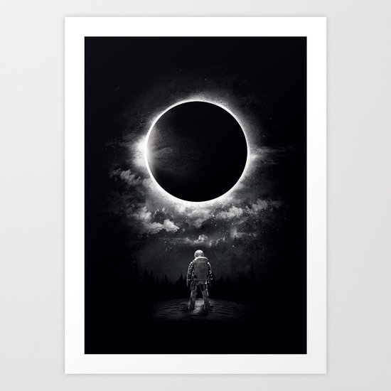 Eclipse Art Print