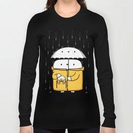 Opi y Kipi en la lluvia Long Sleeve T-shirt