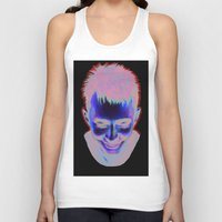 radiohead Tank Tops featuring Radiohead by Laura O'Connor