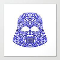 darth Canvas Prints featuring Darth by Pirates Office