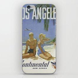 Vintage poster - Los Angeles iPhone Skin