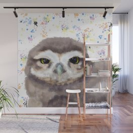 Little Owl (burrowing owl) Wall Mural