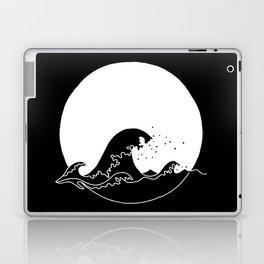 Black Wave Laptop & iPad Skin