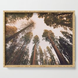 Sequoia Sunset Serving Tray
