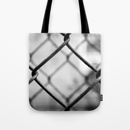 Fenced In, New York City  Tote Bag