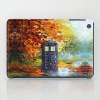 fandom iPad Cases featuring starry Autumn blue phone box Digital Art iPhone 4 4s 5 5c 6, pillow case, mugs and tshirt by Three Second