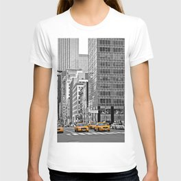 NYC - Yellow Cabs - Police Car T-shirt