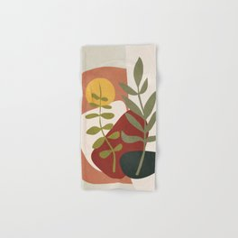 Two Abstract Branches Hand & Bath Towel