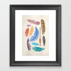 Sky Gods Framed Art Print