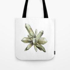 Green Crystal Tote Bag