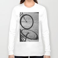 bicycle Long Sleeve T-shirts featuring bicycle by habish