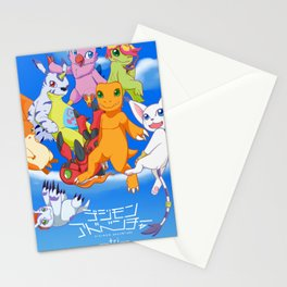 Digimon Tri Stationery Cards