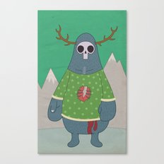 King of Weird Canvas Print