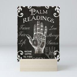 Vintage Palmistry Sign Mini Art Print